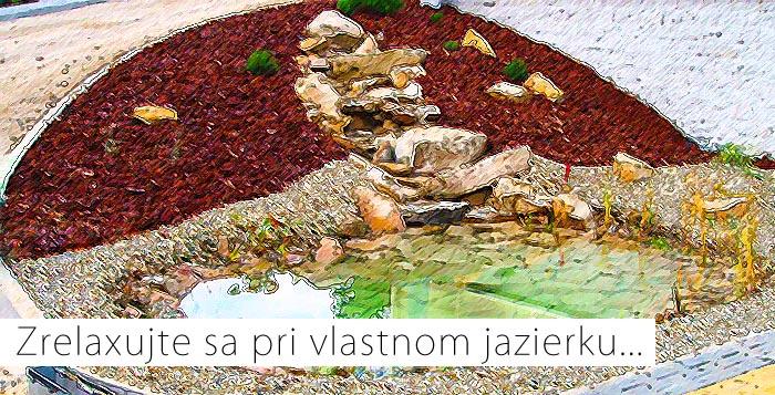 Tvorba záhradných jazierok a vodopádov