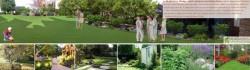 p. Marková - zadná časť záhrady